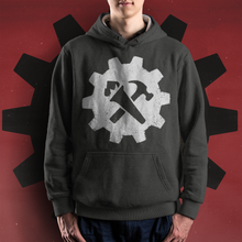 Load image into Gallery viewer, Syndicalist Gear Hoodie - Black