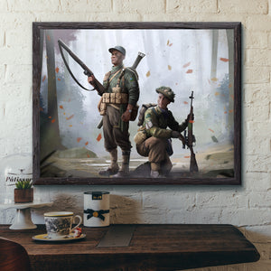 World Of Kaiserreich - New England - Framed Art Print