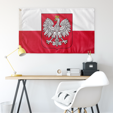 Load image into Gallery viewer, Kingdom of Poland Flag