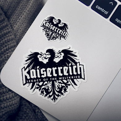 Kaiserreich Logo Stickers - 4-pack