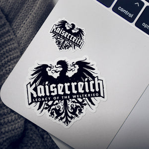 Kaiserreich Logo Stickers - 4-pack (Free Shipping)