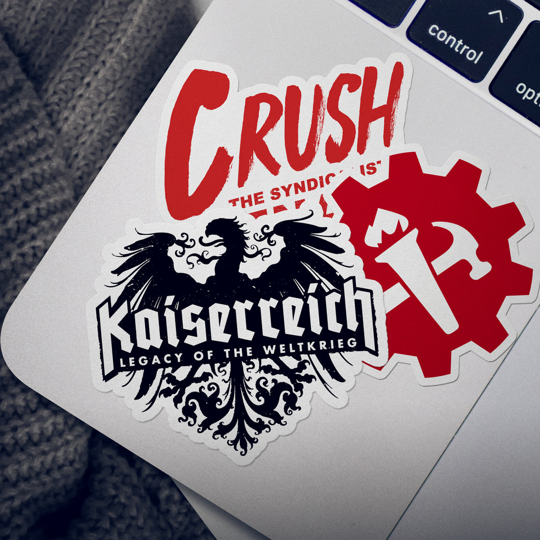 Kaiserreich Sticker Pack - The Faction Collection (Free Shipping)