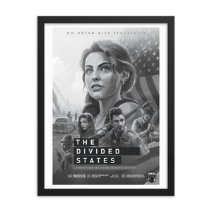 The Divided States - Season 1 Poster - Framed