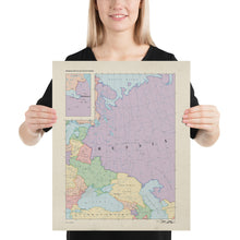 Load image into Gallery viewer, Ruskie Business Maps - Russia & Eastern Europe - Poster