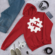 Load image into Gallery viewer, Syndicalist Gear Hoodie - Red