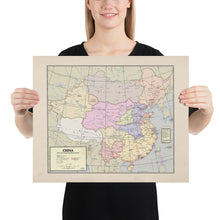Load image into Gallery viewer, Flamefang Maps - China after the Xuantong Restoration