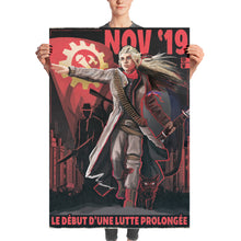 Load image into Gallery viewer, Kaiserreich - Commune of France Propaganda Poster - La Lutte Prolongée