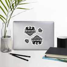 Load image into Gallery viewer, Kaiserreich Logo Stickers - 4-pack (Free Shipping)