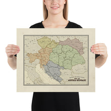 Load image into Gallery viewer, Ruskie Business - Austria-Hungary map - Poster