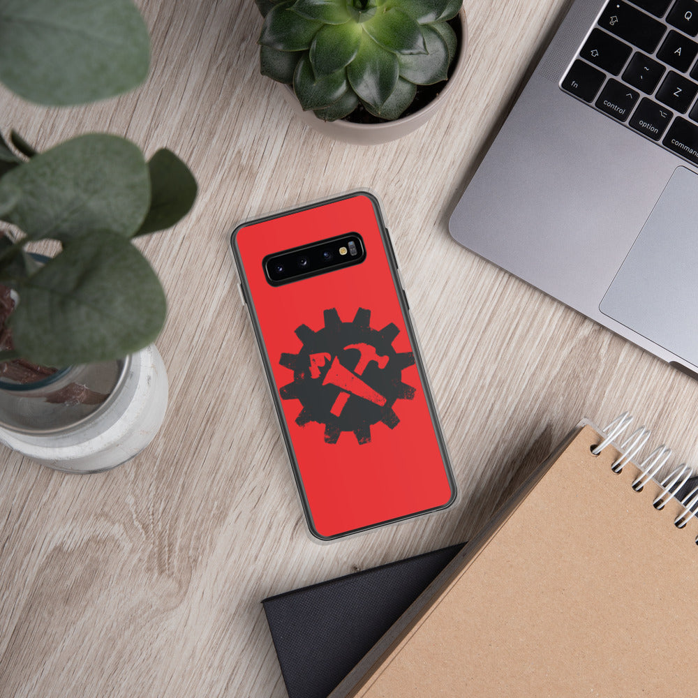 Syndicalist Gear - Samsung Case - Red