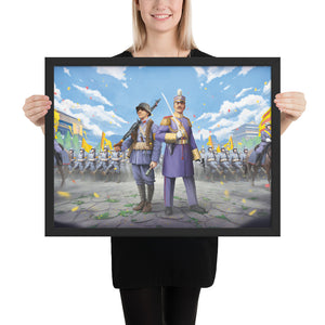 World of Kaiserreich - Qing Empire - Framed Art Print
