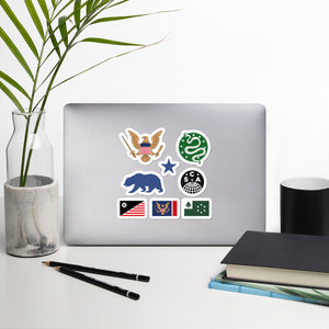 US Civil War Sticker Pack - The Marching Home Collection (Free Shipping)