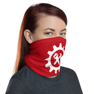 Neck Gaiter - Syndicalist White