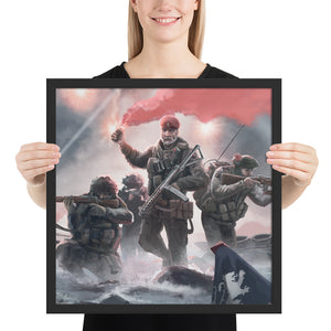 World of Kaiserreich - Dominion of Canada - Framed Art Print
