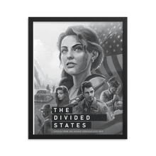 Load image into Gallery viewer, The Divided States - Season 1 Poster - Framed