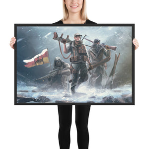 World Of Kaiserreich - Pacific States - Framed Art Print