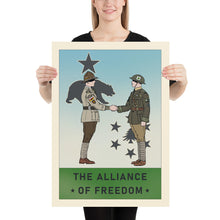 Load image into Gallery viewer, Sir Madman Posters - New England - The Alliance of Freedom