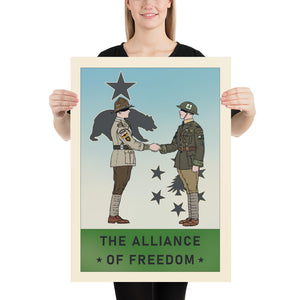 Sir Madman Posters - New England - The Alliance of Freedom