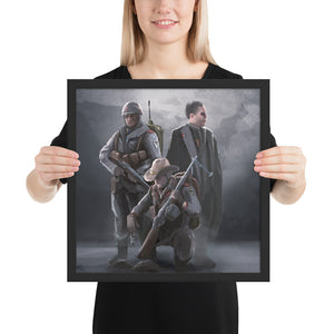 World Of Kaiserreich - AUS - Framed Art Print