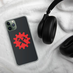 Syndicalist Gear - iPhone Case - Black