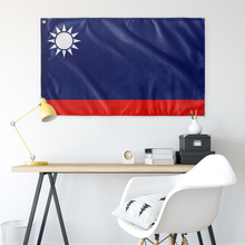 Load image into Gallery viewer, Blue Sky KMT Flag