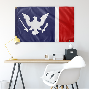 American Union State Flag - White