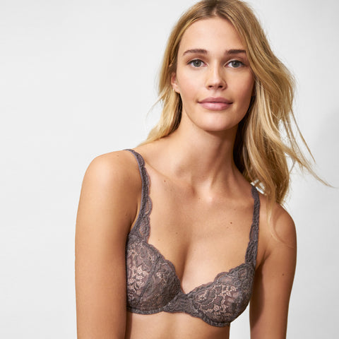 Goddess Multi-Way Underwire Bra in Slate/Cashmere