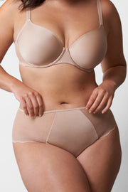 Beloved High-Rise Chikini in Cashmere Front View 2