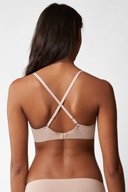 Breathless Multi-Way Push-Up Bra in Cashmere X-Back View