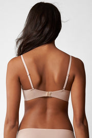 Breathless Multi-Way Push-Up Bra in Cashmere Back View