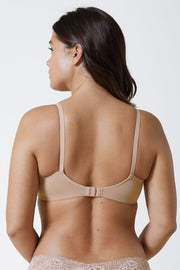 Empower Full Balconette Bra in Nylon/Sheer Back View