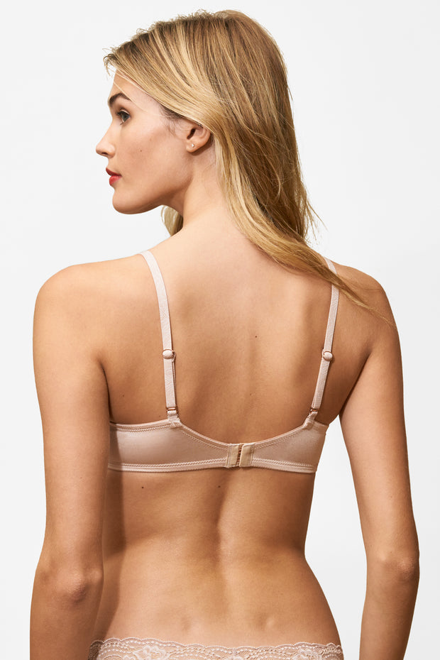 Glimpse Multi-Way T-Shirt Bra in Cashmere/Lt. Ivory Back View