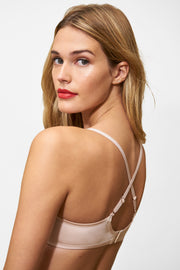 Glimpse Multi-Way T-Shirt Bra in Cashmere/Lt. Ivory X-Back View