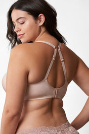Glimpse Multi-Way Push-Up Bra in Cashmere/Lt. Ivory X-Back View