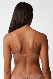 Minx Balconette Bra in Gleam Back View