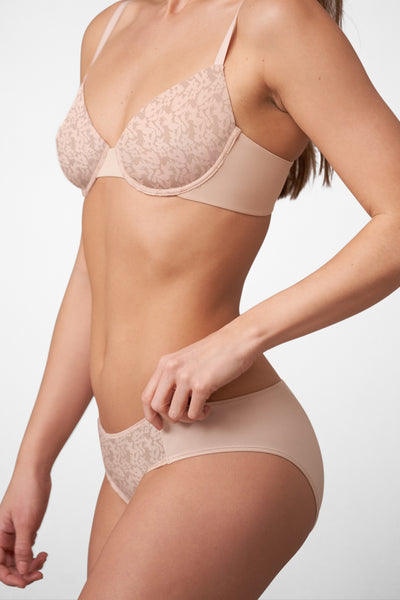 Compel Bikini in Cashmere Side View