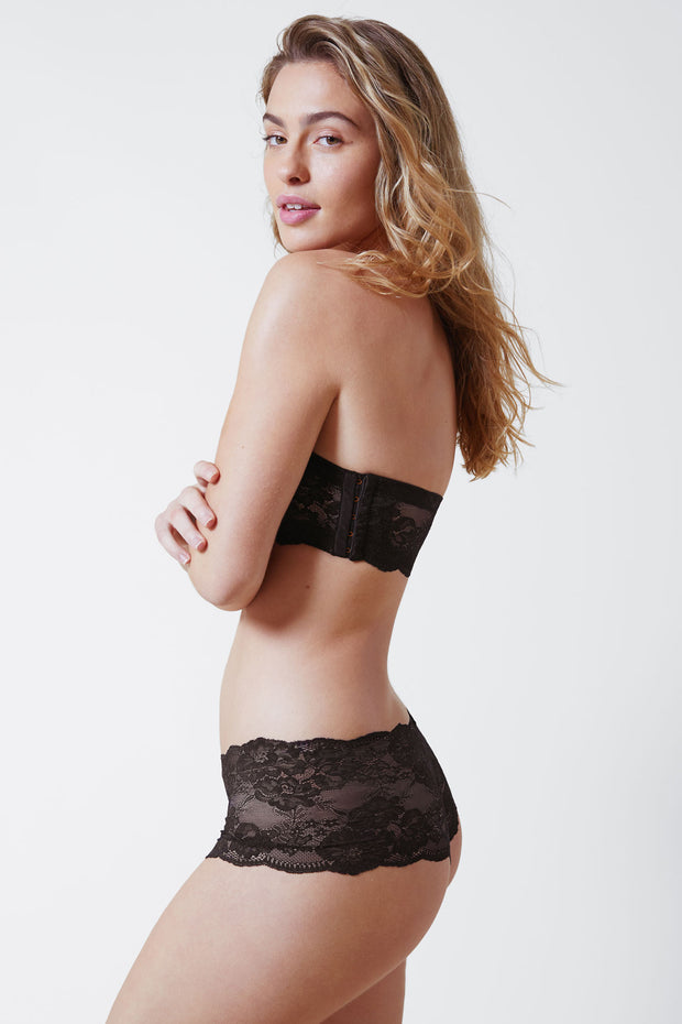 Strut Multi-Way Strapless Bra in Black Side View