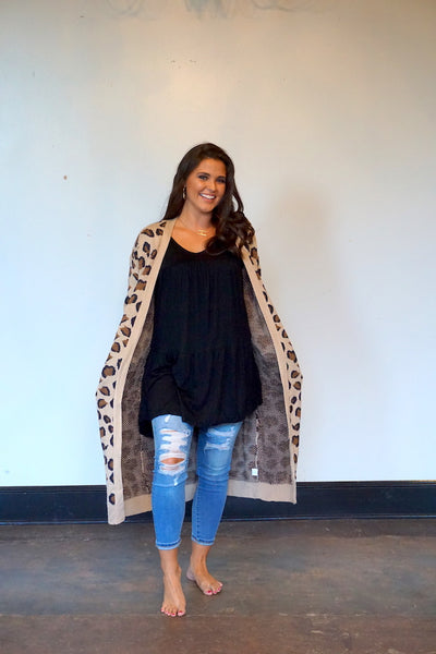 Say It Wild Cardigan Duster