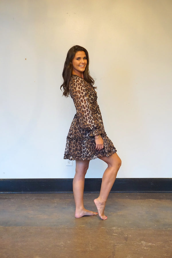 Charming Cheetah Dress