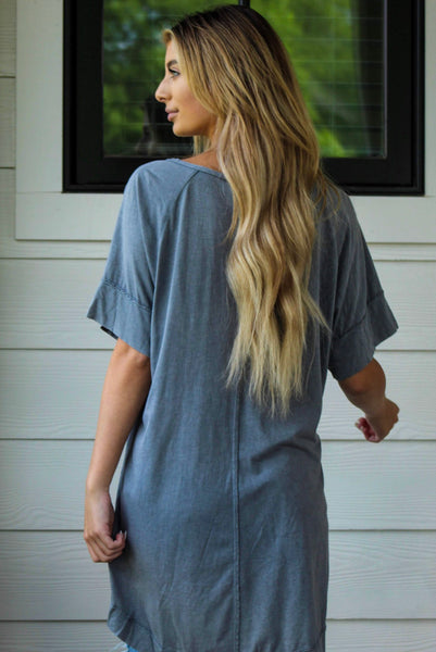 Throw On and Go! Oversized Tee