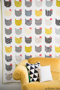 Friday Spotlight: Emily's Chicken Quilt!