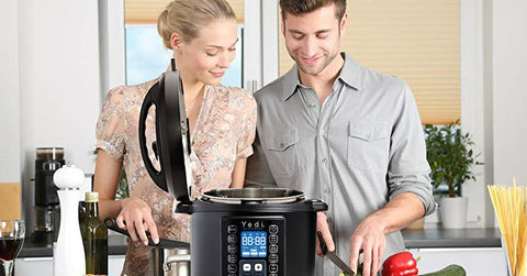 Cut your cooking time with the Yedi 9-in-1 pressure cooker for $85 on Amazon