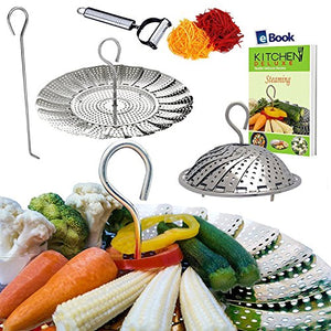 23 Top Stainless Steel Vegetable Steamer Baskets
