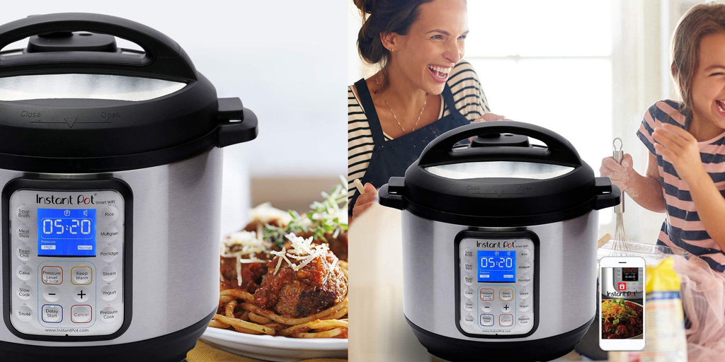 Amazon is now offering the 6-quart Instant Pot Smart Wi-Fi Multi-Cooker for $99.95 shipped