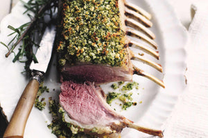 Rack of Lamb with a Herb Crust