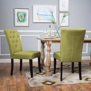 Good Looking Green Kitchen Chairs