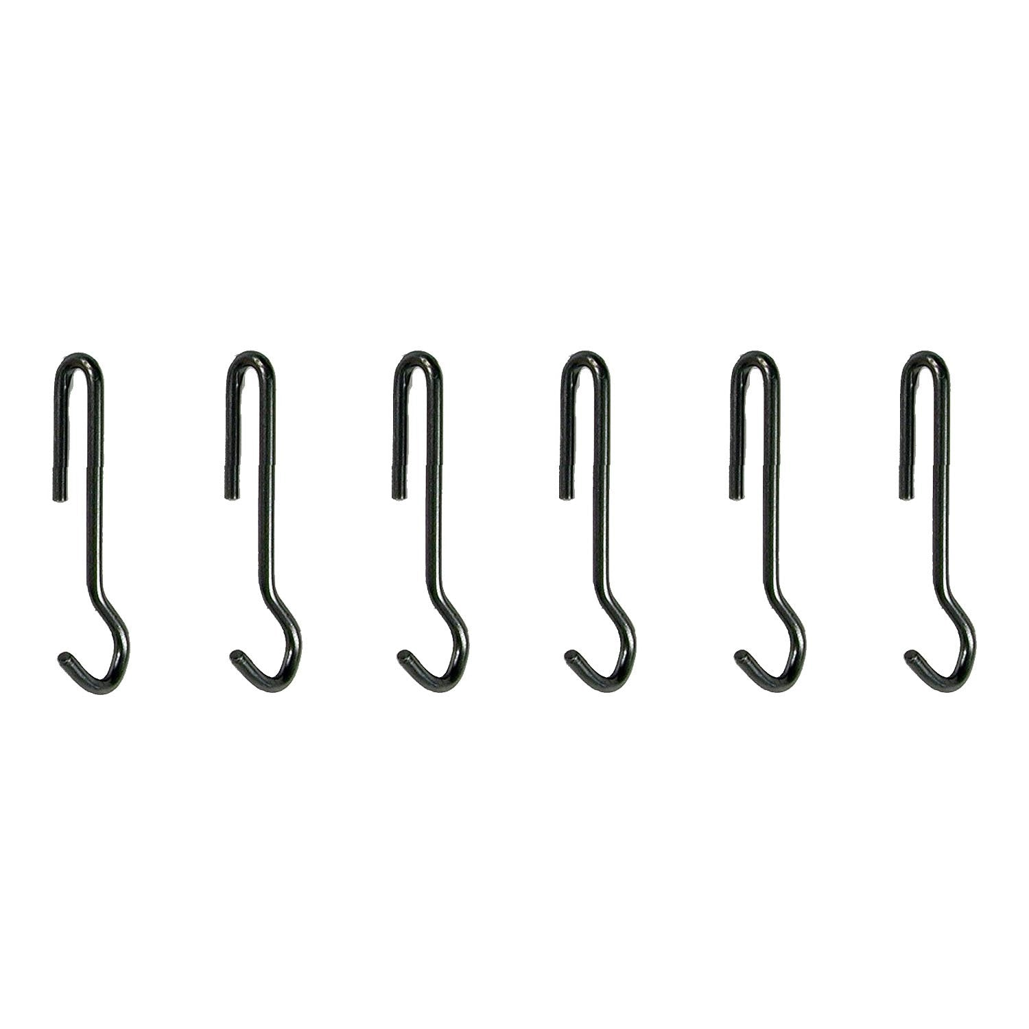 Enclume Angled Pot Hook Use With Pot Racks, Set Of 6
