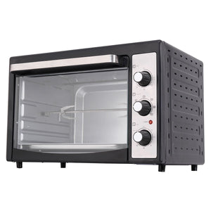 Costway 9-Slice Toaster Oven Broiler with Drip Pan, 1800W Electric Toaster Oven Pizza Oven 40L Countertop