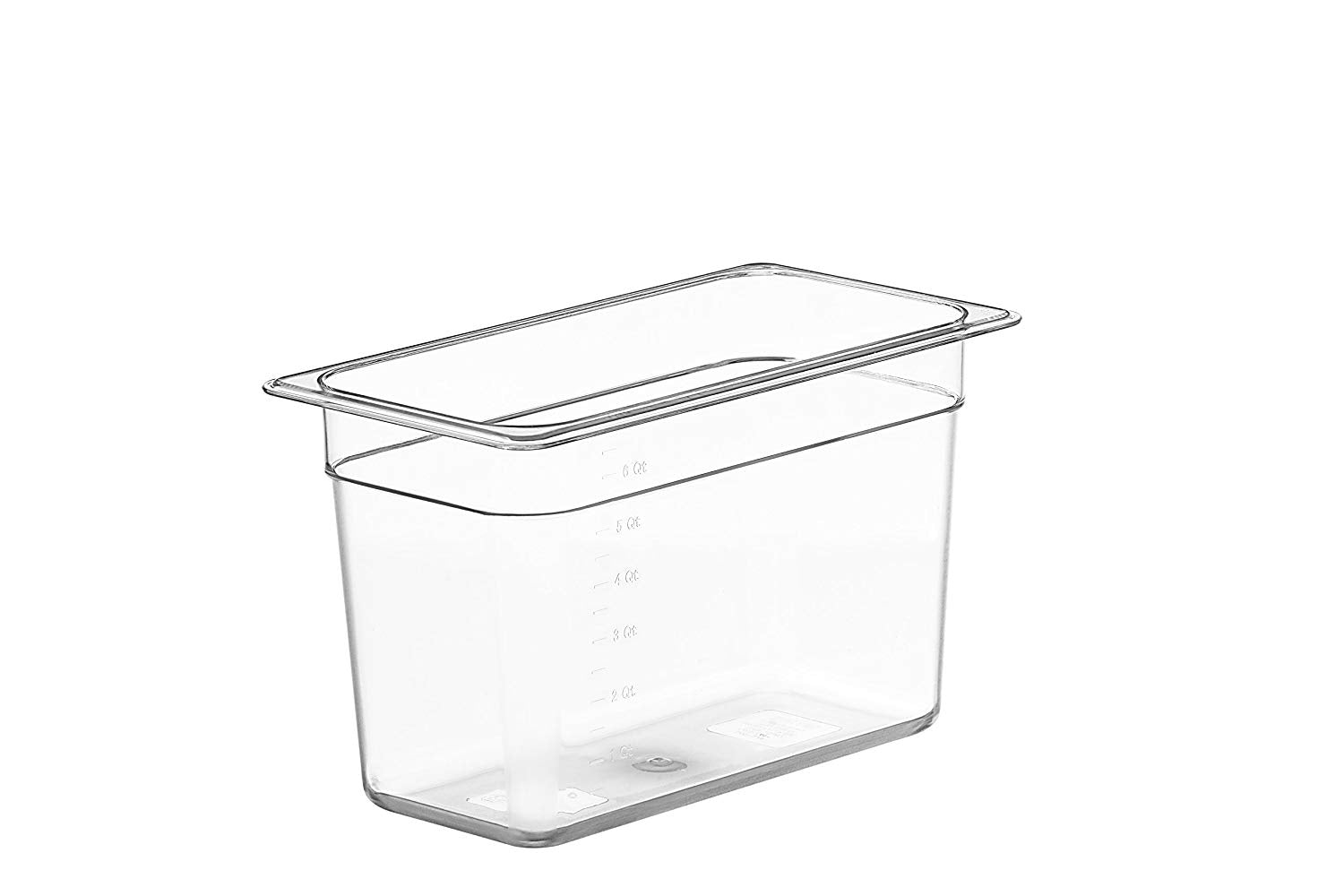 LIPAVI Sous Vide Container Model C5 – 1.75 Gallon, 12.7 X 7 Inch, Height 8 Inch. Strong, Clear Polycarbonate. Matching Lids for Anova, Joule and more. Matching Sous Vide Rack LIPAVI Model L5