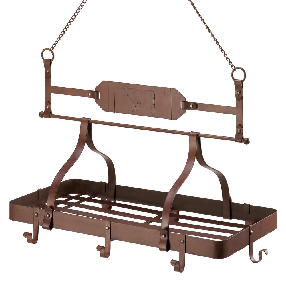 Country Cow Kitchen Rack